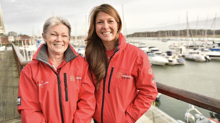 Tracy Edwards MBE will hand over Maiden's skipper role to Susan Glenny